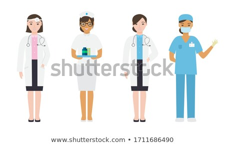 a group of people engaging in different professions stock photo © bluering