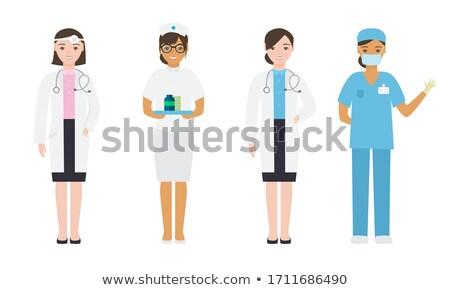 persone · diverso · persone · gruppo · stand · bianco - foto d'archivio © bluering
