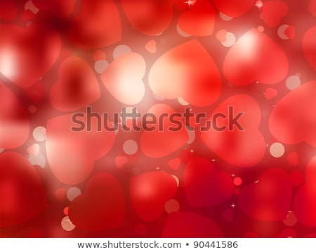 Stock photo: Valentin`s Day card with copy space. EPS 8