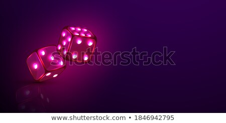 Playing dices background Stock photo © day908