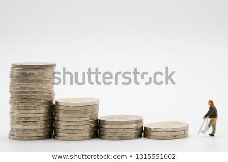 trésorerie · dollars · argent · Finance · rétro · vecteur - photo stock © rogistok