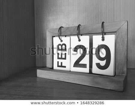 29th February Stock photo © Oakozhan