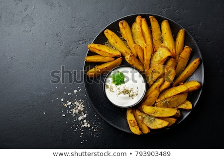 plate of mayonnaise Stock photo © Digifoodstock