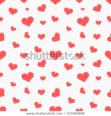seamless hearts pattern stock photo © pakete