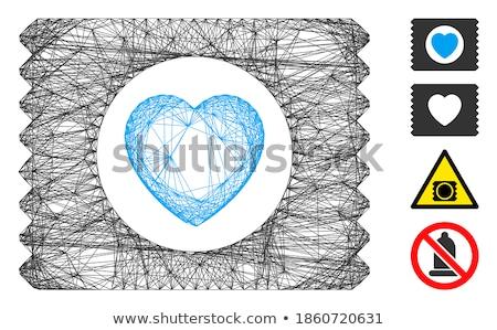 Spermicide Condom Flat Vector Icon Stock photo © ahasoft