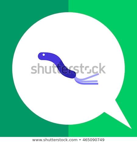 Spiral Bacillus Flat Vector Icon Stock photo © ahasoft