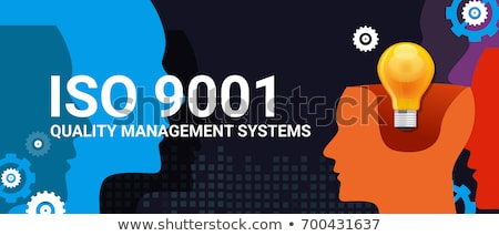 File Folder Labeled as ISO. Stock photo © tashatuvango