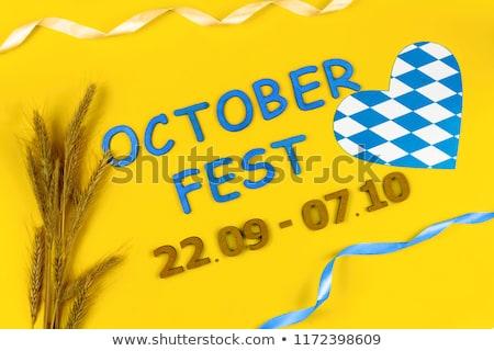 cerveja · festival · vintage · cartaz · negócio · comida - foto stock © pashabo
