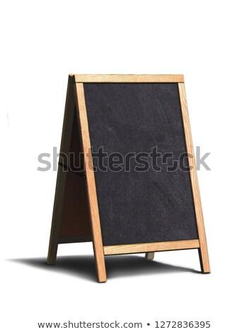 Kaffeehaus · Veröffentlichung · Zeichen · Holzschild · Banner · Holz - stock foto © andrei_