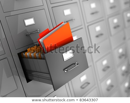 file card with research 3d stock photo © tashatuvango