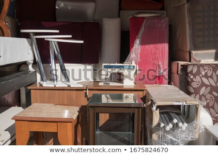 Sewing Machine Drawer Stock photo © lenm