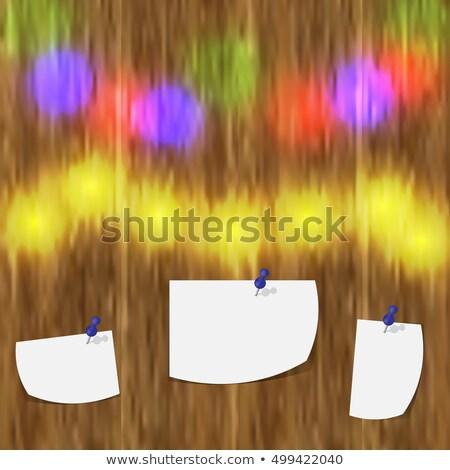 Vettore allegro Natale illustrazione rosso tipografia Foto d'archivio © articular