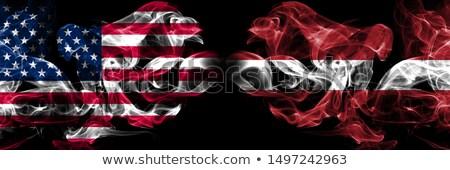 Futbol Alevler bayrak Letonya siyah 3d illustration Stok fotoğraf © MikhailMishchenko