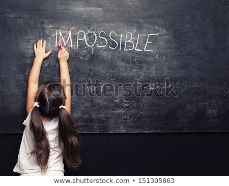 crossing out impossible and writing possible stock photo © latent