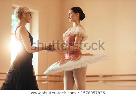 балет · танцоры · Постоянный · студию · фитнес · энергии - Сток-фото © is2