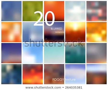 set of vector blurred backgrounds concepts illustrations stock photo © linetale