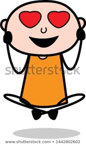 Smiling Cartoon Boy Burglar Stock photo © cthoman
