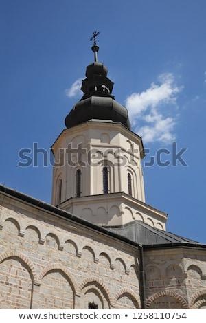 聖なる 修道院 セルビア オーソドックス アイコン バロック ストックフォト © simazoran