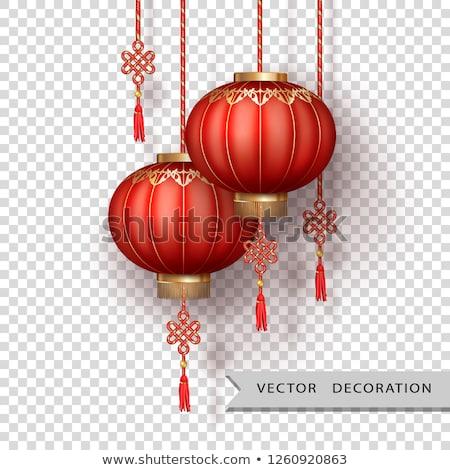 Chinese Silk Lanterns Stock photo © kostins