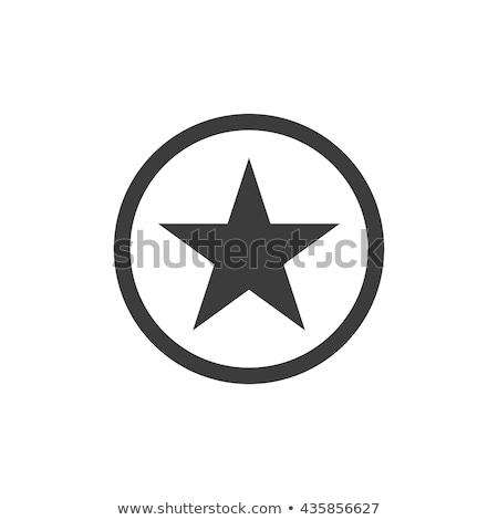 black star icon geometric sign vector element symbol Stock photo © blaskorizov