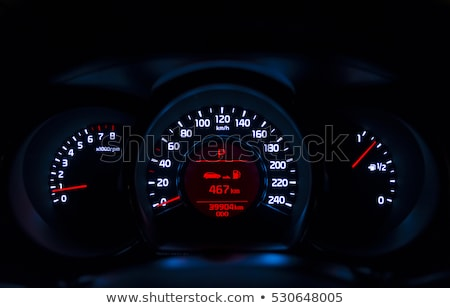 the instrument panel in the car, the speed dial on the dashboard Stock photo © ruslanshramko