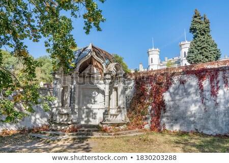 kale · görmek · Ukrayna · eski - stok fotoğraf © givaga