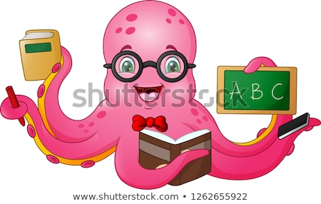 タコ 科学 教師 実例 化学 ストックフォト © lenm