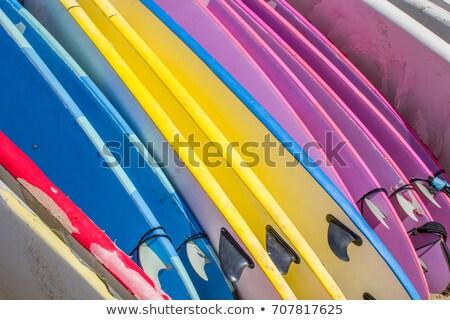 Colorato up fila abstract estate Foto d'archivio © lovleah