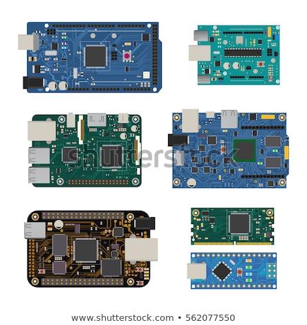 Een schild module bouwen elektronische projecten Stockfoto © jarp17