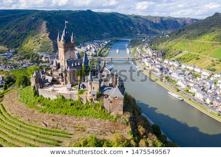 On the banks of the Moselle river,Germany Stock photo © borisb17