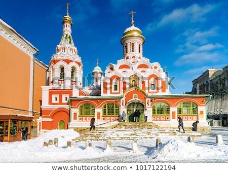 собора · Красная · площадь · Москва · Россия · небе · здании - Сток-фото © borisb17