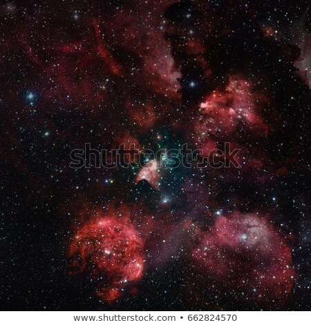 The Cat's Paw Nebula in space. Stock photo © NASA_images