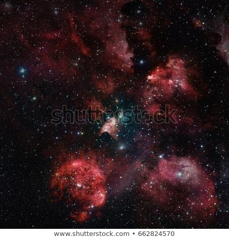 gatos · pata · nebulosa · espaço · mentiras · constelação - foto stock © NASA_images