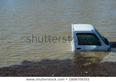 Muddy Floodwaters Stock photo © craig