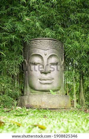 Ancient Buddha stock photo © AEyZRiO