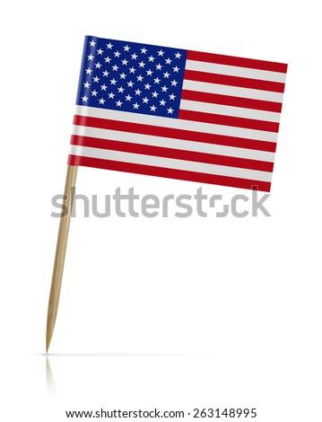 USA and Comoros - Miniature Flags. Stock photo © tashatuvango