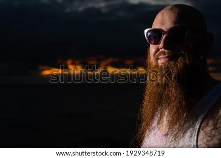 魅力的な 残忍な 男 下着 ポーズ 孤立した ストックフォト © deandrobot