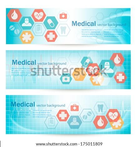 Szczepienia medycznych banner wektora muzyka Zdjęcia stock © Leo_Edition