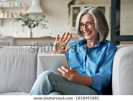 Beteg idős szett nők különböző bőrápolás Stock fotó © toyotoyo