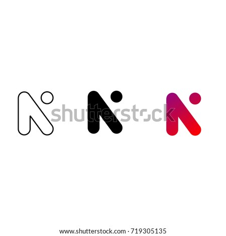 A letter N Stock photo © colematt