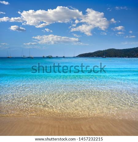 Ibiza Playa Ses Salines beach Es Cavallet Stock photo © lunamarina