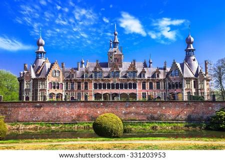 Ooidonk Castle, Belgium Stock photo © borisb17