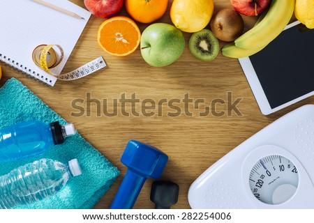 Saúde comida energia vitalidade fitness carne Foto stock © marilyna