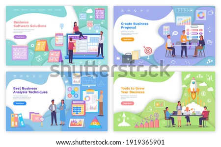 Business Proposal and Analysis Technique Vector Stock photo © robuart