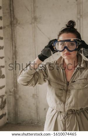 painter retouching wall Stock photo © photography33