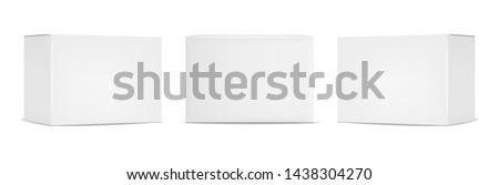 white box isolated Stock photo © shutswis