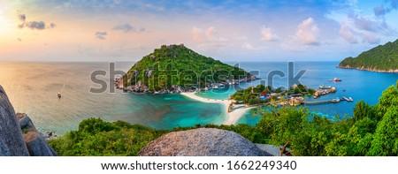 тайский · долго · лодках · традиционный · пляж · Таиланд - Сток-фото © petrmalyshev
