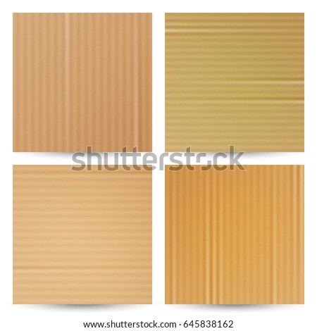 cardboard texture vector realistic material paper cartoon background graphic design element for po stock photo © pikepicture