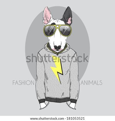 Vector pets fashion look Stock photo © netkov1