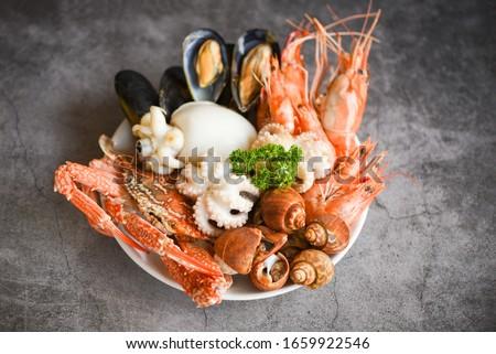 Stock photo: seafood